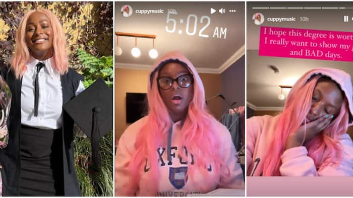It's really hard: DJ Cuppy speaks on being a student at Oxford just few days after matriculation