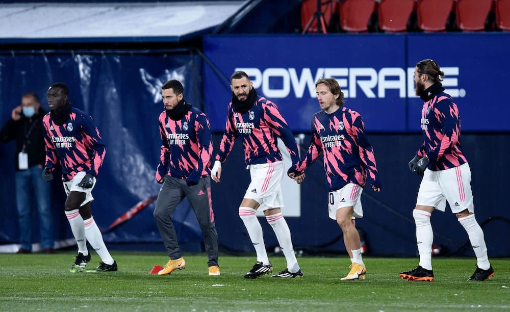 Osasuna vs Real Madrid: Zidane's men fire blanks in a snowy La Liga encounter