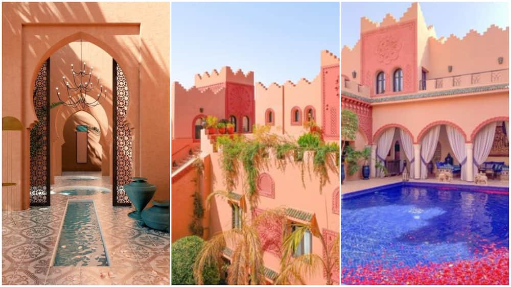 Beautiful architectural design in Morocco makes people who to visit the country