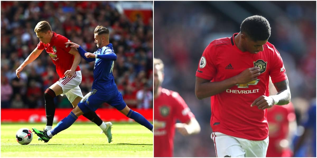 Marcus Rashford's penalty gives Man United important win over Leicester City