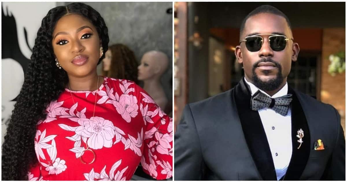 Is he the reason for your divorce, is that the baby's father - Fans ask Yvonne Jegede of son's godfather on his birthday