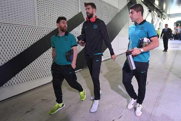 Lionel Messi, Pique, Suarez hold crisis talk after Copa del Rey defeat