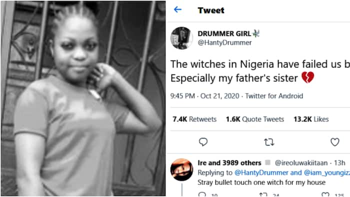The witches in Nigeria have failed us big time - Lady slams father's sister, others