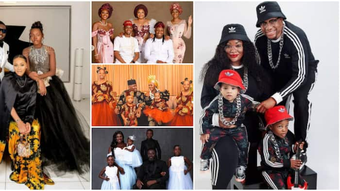 Mercy Johnson, Omotola Jalade and other celebrities whose adorable family photos got Nigerians gushing