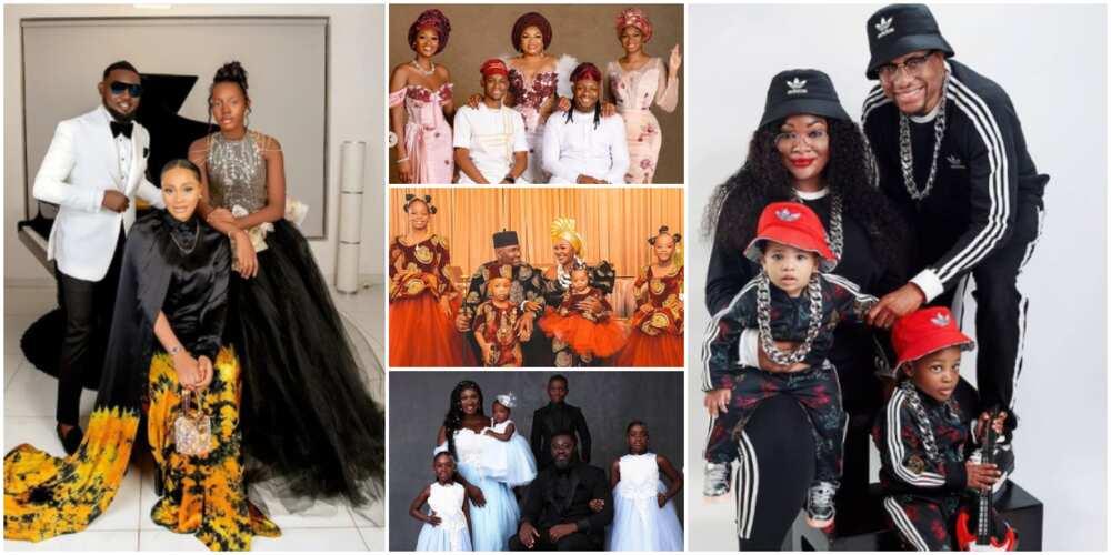 Nigerian celebrities share family photos