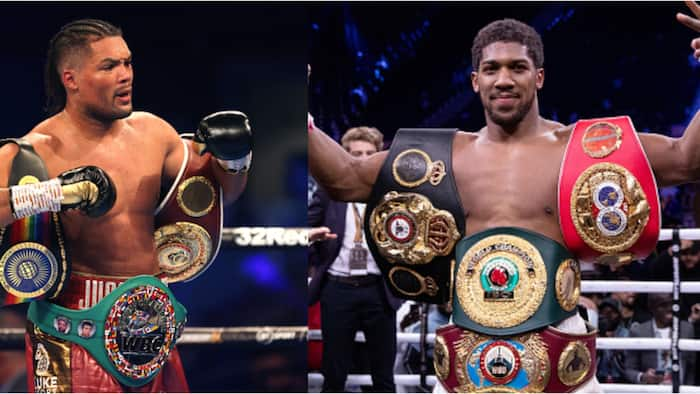 Anthony Joshua will finally face Nigerian opponent if he defeats Usyk