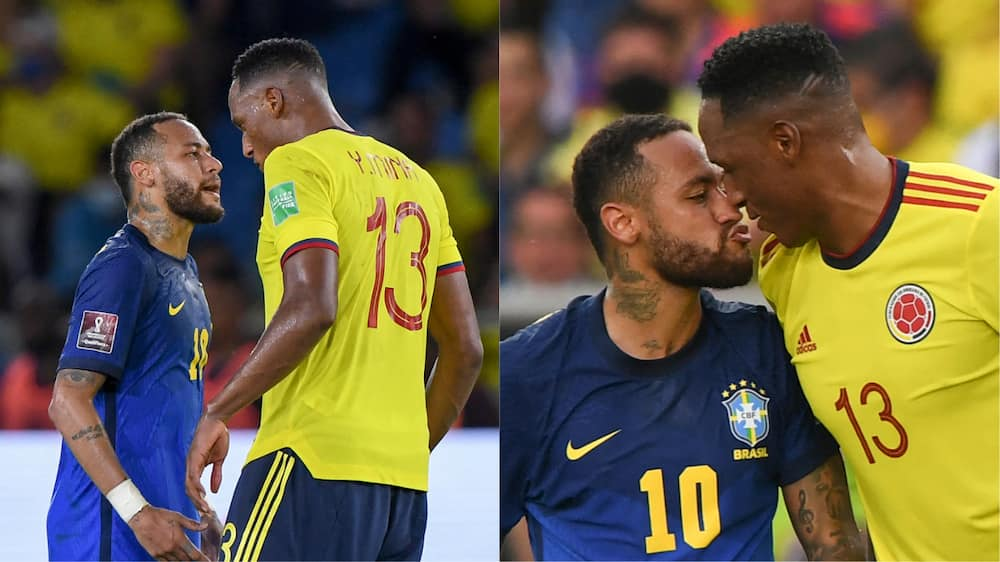 Neymar and Mina