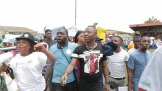 Yadda mawallafin ShaharaReporters ya sha duka a hannun 'yan daba a harabar kotun Abuja