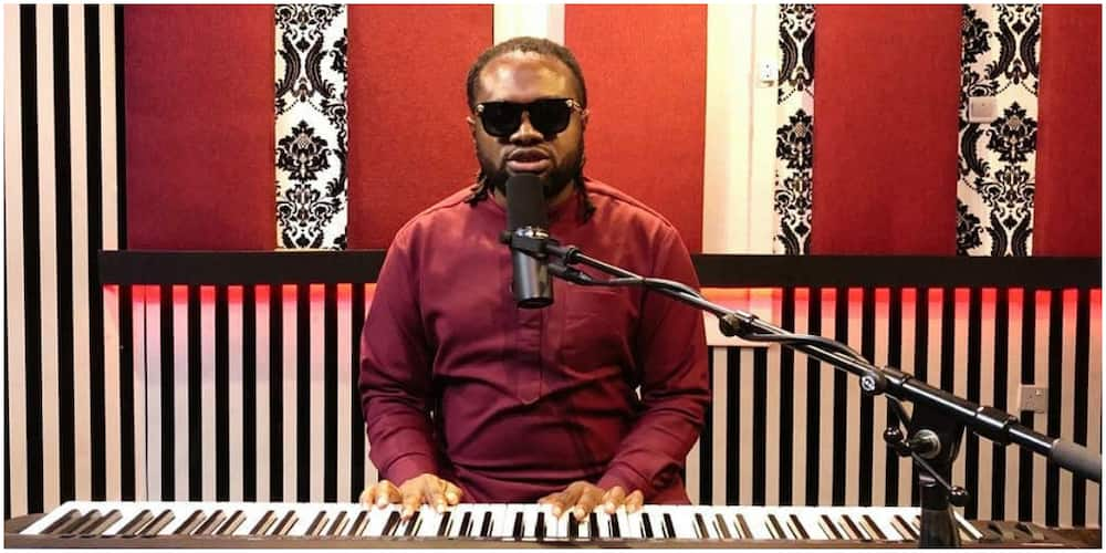 Visually-impaired singer Cobhams Asuquo clocks 40, fans celebrate him