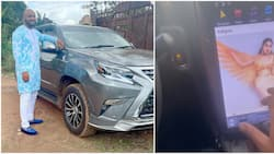 Yul Edochie: Oyinbo dey try, actor mesmerized as he's able to access IG through device in his new Lexus whip