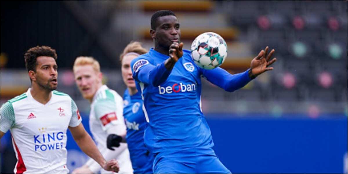Super Eagles striker Onuachu grabs 26th league goal of the season for Genk