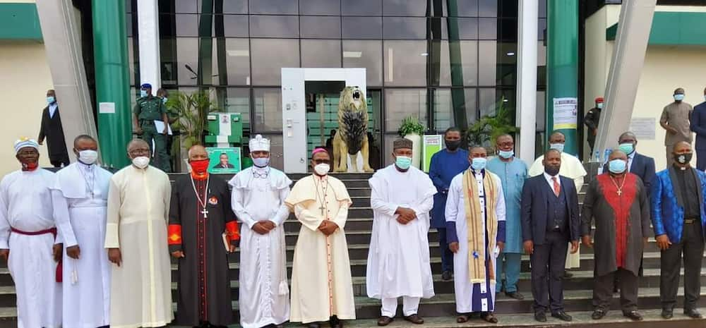 CAN hails Governor Ugwuanyi for good governance, peace, security