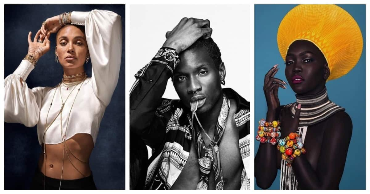 Top 10 famous black models 2019