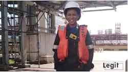 Woman who was raised by single mom becomes chemical engineer