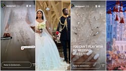 Diamond encrusted wedding gown, 48-feet royal castle cake, Lexus car, Hublot wristwatches souvenirs, other highlights from Malivelihood, Deola Smart's beautiful wedding