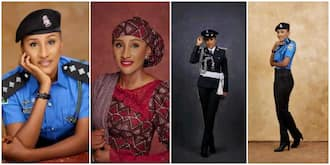 Nigerians react to viral photos of policewoman said to be the most beautiful in the force
