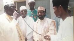 MKO Abiola ya kasance a ofishina a lokacin yakin neman shugabancinsa na 1993, Garba Shehu