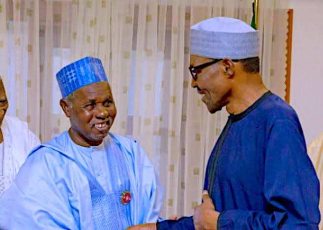Masari commends Buhari's administration.