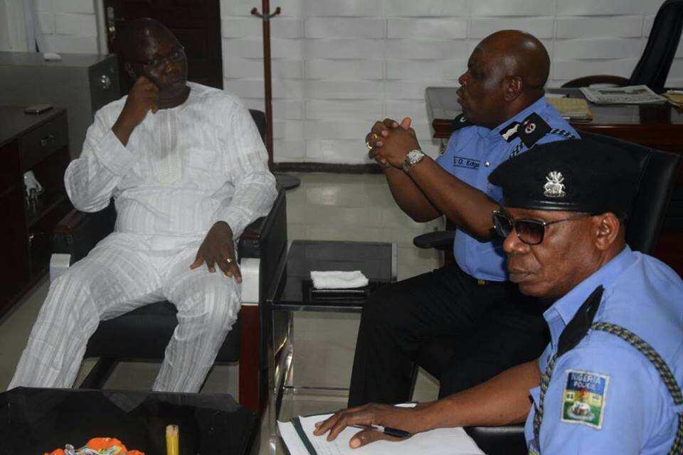 We're partners in progress - Gani Adams tells Lagos CP ▷ Nigeria news - Legit.ng