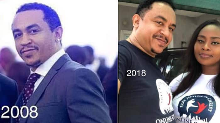 I was doing well but I was in a horrible marriage - Daddy Freeze says as he joins 10 years challenge