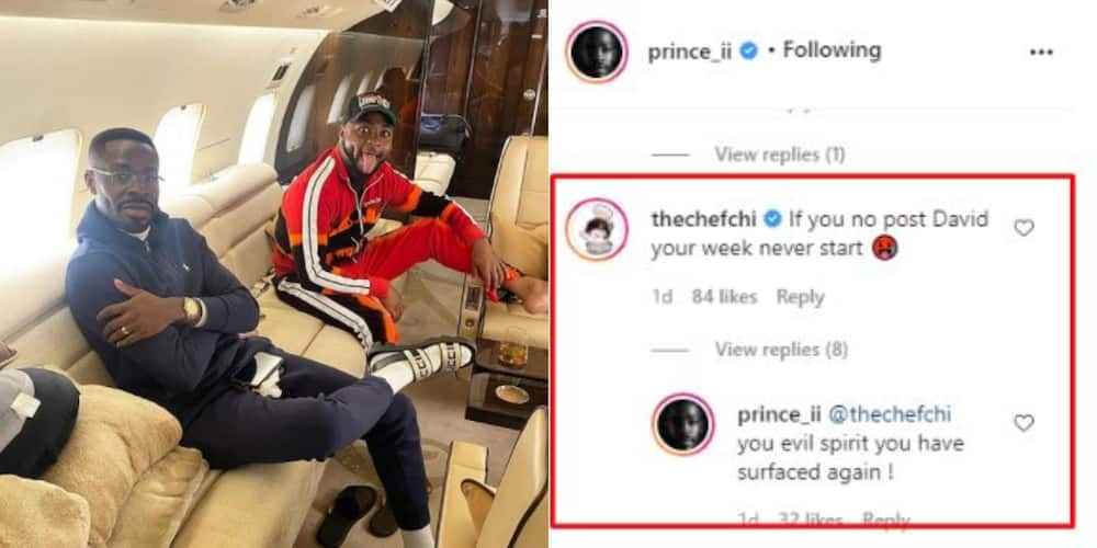 Davido's lawyer responds as Chioma teases him for always posting singer's picture