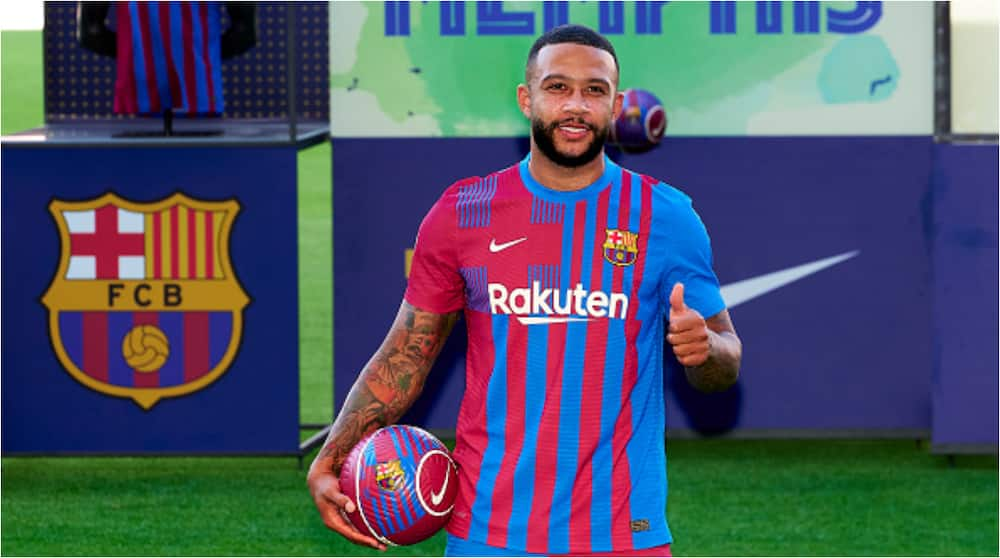 Jubilation at Camp Nou As Spanish Club Barcelona Officially Unveil New Signing Ahead of Next Season