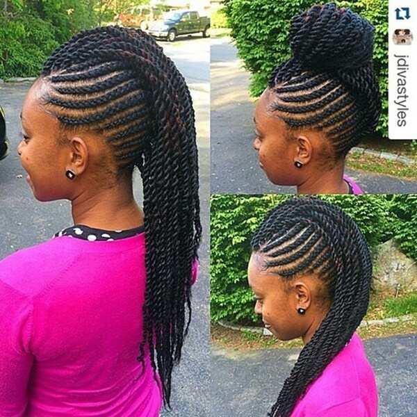 Twists with braids
