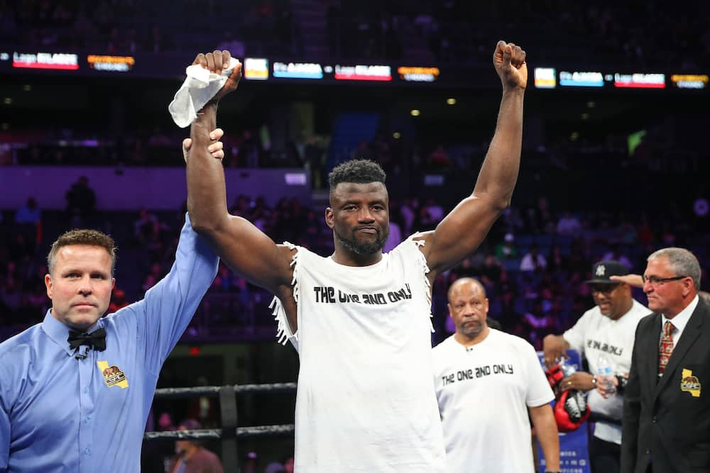 Efe Ajagba, Nigerian boxer, could face boxing champion Tyson Fury in London bout