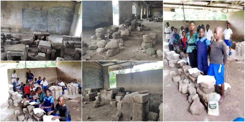 Community Primary School, Amaku Igbodo in Etche local government area