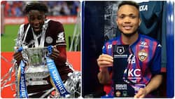 Jubilation as 2 Super Eagles stars ranked among top 100 players on FIFA 22