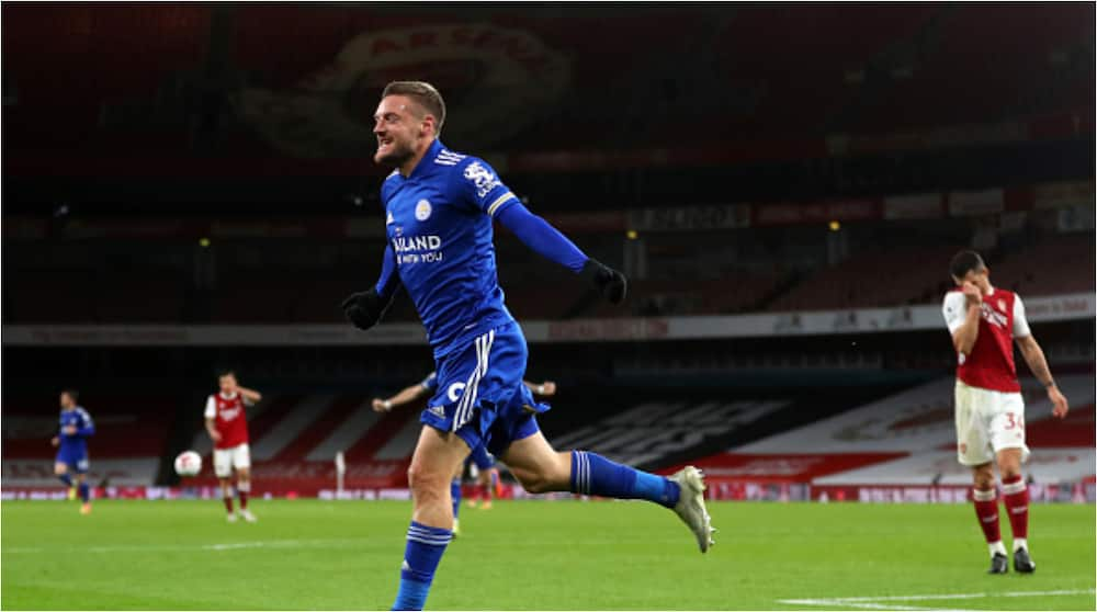 Arsenal vs Leicester: Jamie Vardy on the scoresheet as Gunners lose at home