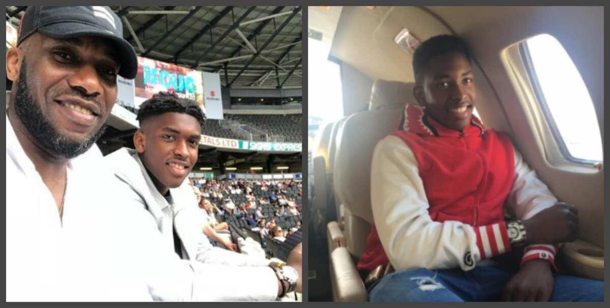Jay Jay Okocha's son