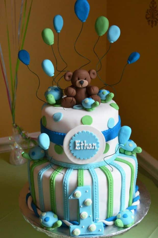 One Year Birthday Cake Ideas For A Baby Legit Ng
