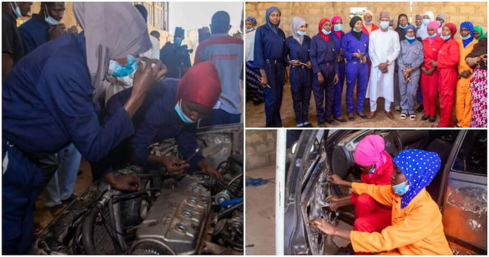 History made as first all-female mechanic workshop opens in northern state, photos emerge