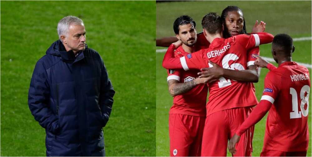 Tottenham suffer first loss in Europa League to Roal Antwerp by 1-0