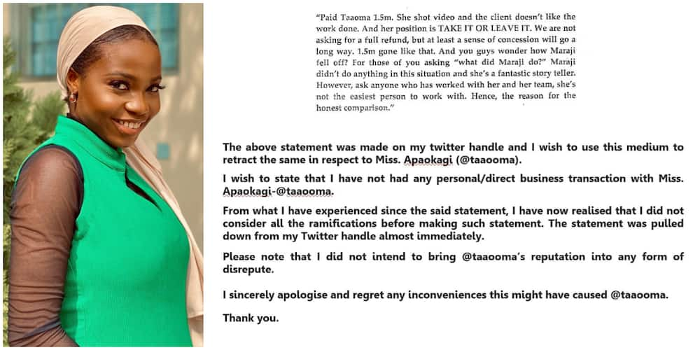 Man who accused Taaooma over false N1.5m skit issues public apology