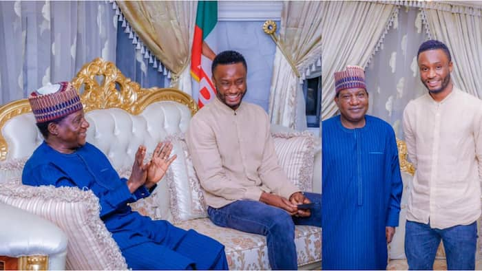 After meeting Governor Yahaya Bello and Senator Ifeanyi Ubah, Mikel Obi meets another governor