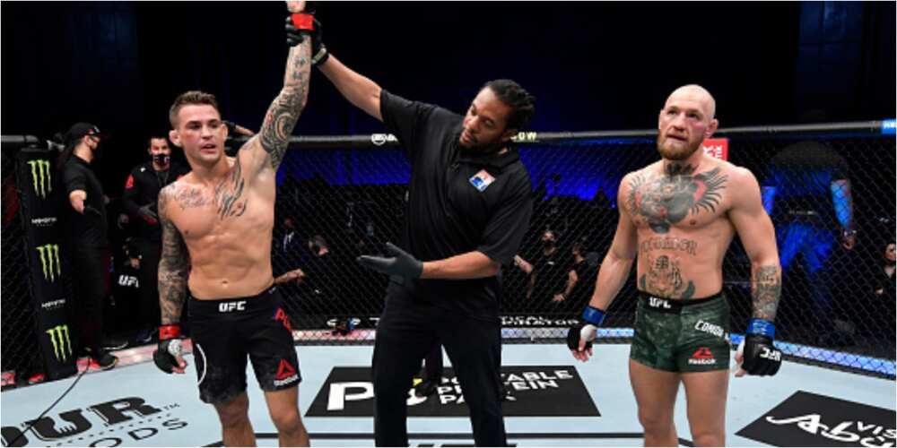 Dustin Poirier stuns Conor McGregor in UFC 257 lightweight bout