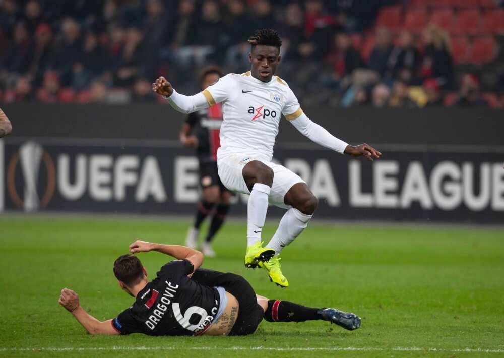 Stephen Odey: Nigerian striker joins French League side Amiens on loan