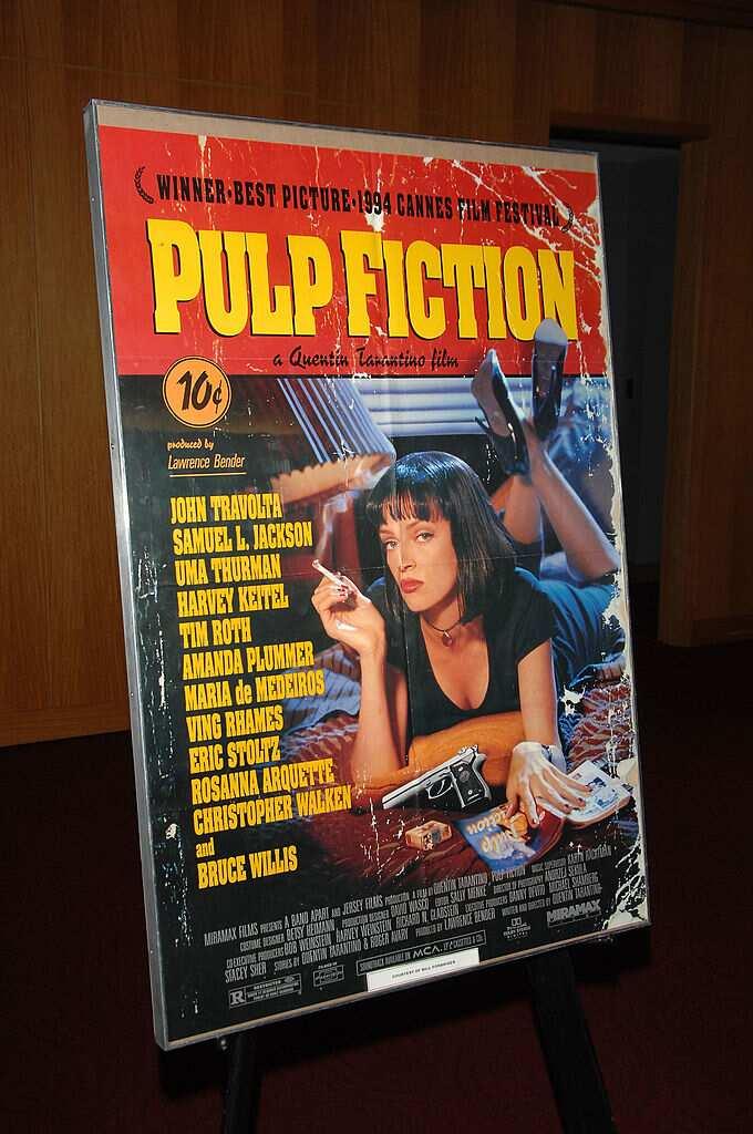 Pulp Fiction est l'un des films d'humour noir qui ont connu un large succès.