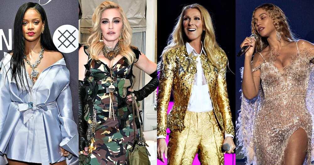 Richest female musicians in the world 2019