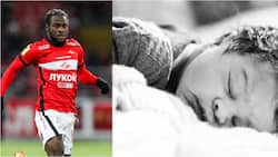 Former Super Eagles star posts 1st photo of his new born baby as Yobo, Balogun, Morata, others react
