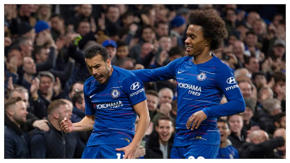 Willian and Pedro have extended their deals until the end of season