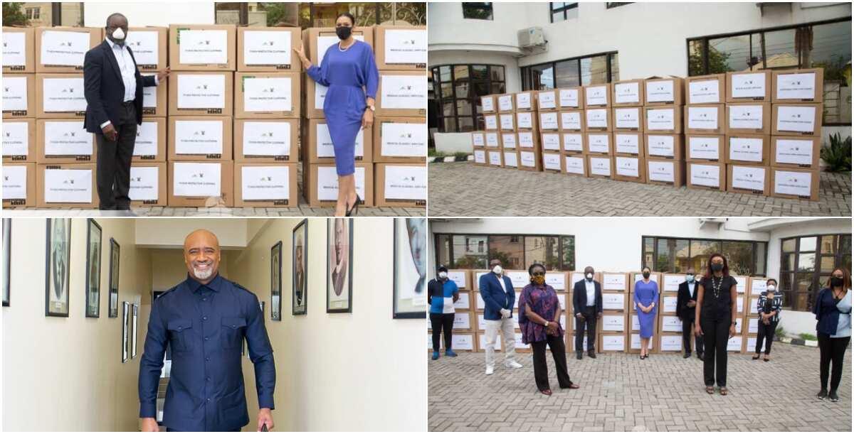 COVID-19: Pastor Adefarasin donates essential items to Lagos govt - Latest News in Nigeria & Breaking Naija News 24/7 | LEGIT.NG