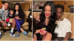 Nicki Minaj and Rihanna hang out, A$AP looks like he didn't wanna be there