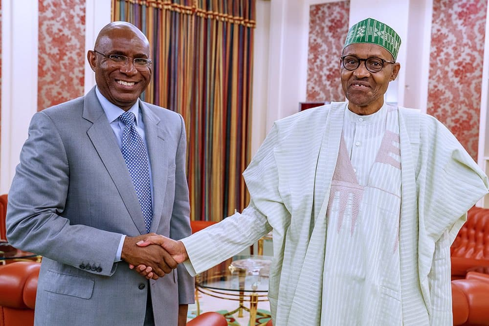 Buhari, Omo-Agege meets in Aso Rock as Senate backs call for soldiers on highway