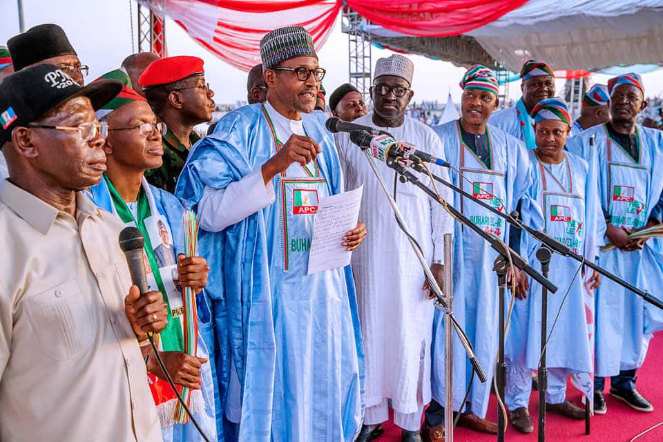 Image result for Nigeria Airways Pensioners Supports Buhari's Presidential Ambition
