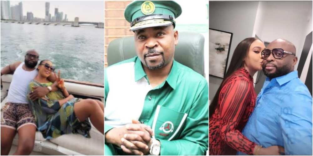 Ehi Ogbebor, her new man Dennis and MC Oluomo