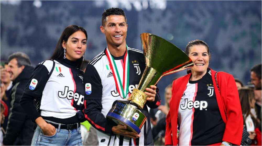 Cristiano Ronaldo's mum Dolores denies rift with 'daughter-in-law' Georgina Rodriguez