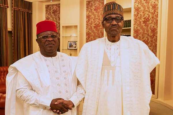 Zan fice daga PDP zuwa APC - Gwamnan Ebonyi